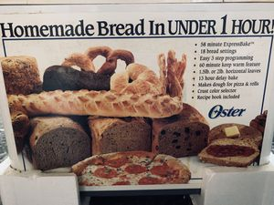 Oster bread maker for Sale in Spring, TX