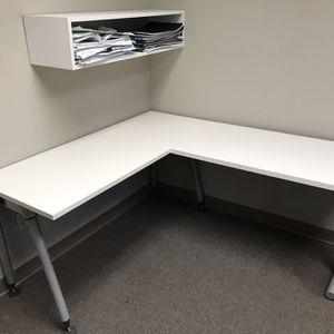 L Desk for Sale in Chino, CA