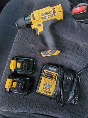 Dewalt 12v max drill set for Sale in Greenacres, FL