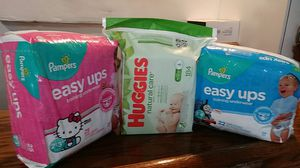 Huggies and pampers for Sale in South Gate, CA
