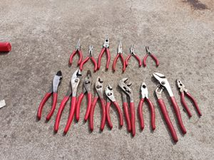 Mac snap-on pliers cutters combined Mac and snap-on brand for Sale in Manteca, CA