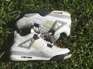 Jordan 4 white cement for Sale in Pflugerville, TX