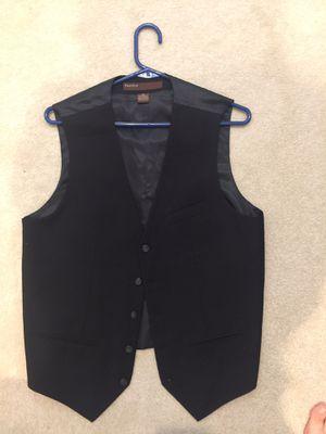 Perry Ellis Men's Vest - size Medium - black - worn once for Sale in Herndon, VA