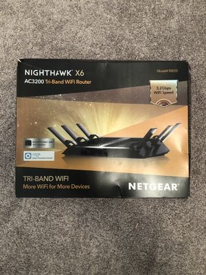 Nighthawk Tri-band WiFi Router (new) for Sale in Las Vegas, NV