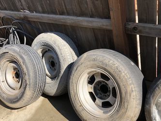 5-5x5 Wheels And Tires for Sale in Fowler,  CA