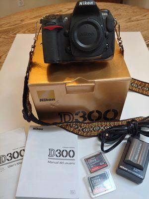 NIKON D300 CAMERA for Sale in Puyallup, WA