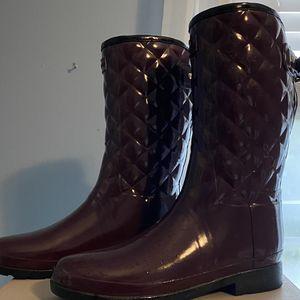 Hunter Women's Rain Boots size 9 for Sale in Sunbury, OH