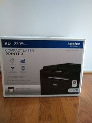 New Brother Print/Copy/Scan Printer (HL-L2395dw) for Sale in McLean, VA