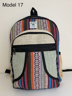 Natural Handmade Boho/Hippie Hemp Backpack/Laptop Bag. Perfect Christmas Gift! for Sale in Portland,  OR