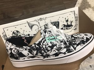 Nightmare Before Christmas Vans Shoes for Sale in Corona, CA