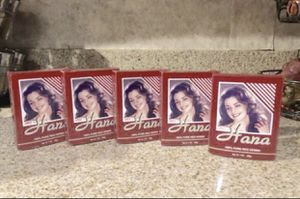 5 Caja Hana Natural Henna Roja / 5 Box Hana Natural Henna Red for Sale in Rialto, CA