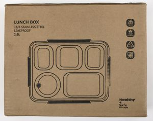 New Lunch Bento Box Insullated Stainless Steel Square Food Storage Container Leakproof (Tarpon) for Sale in Tarpon Springs, FL