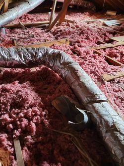 Free Insulation, Attic, Ceiling, Blown In Fiberglass for Sale in Plano,  TX