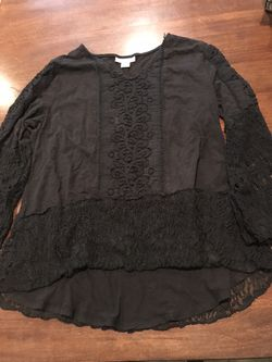 Style & Co lace and cotton tunic! Sz LP for Sale in Silver Spring,  MD