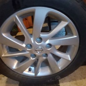 I Have 3 Nissian Rims & Tires for Sale in Durham, NC