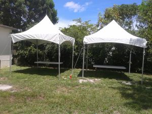 10x10 hi pek. Tents for sale for sale. for Sale in Miami, FL