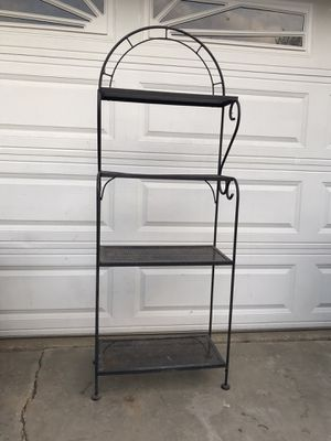 Shelf top 2 shelves 9 inches front to back 3 bottom ones 13 inches look at all the pictures for Sale in Whittier, CA