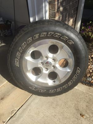 5 Jeep Sahara Wheels/ Tires for Sale in Concord, NC