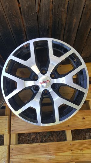 3 GMC 20 inch rims 6 hole for Sale in Midland, TX