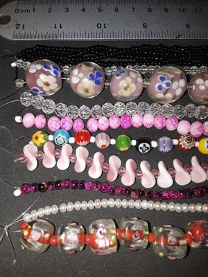 11 Strands of glass beads for Sale in Palo Verde, AZ
