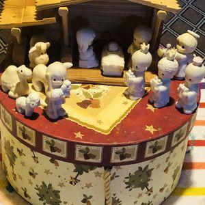 Precious moments nativity set for Sale in Princeton, NJ