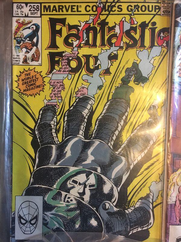 Fantastic four comic books vintage 80'S