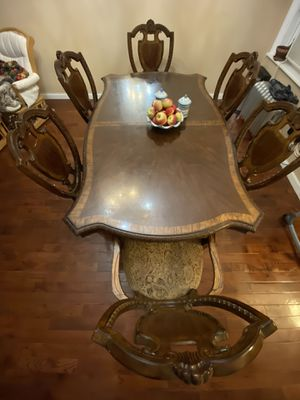 Dining Room Table and Six Chairs for Sale in Brooklyn, NY