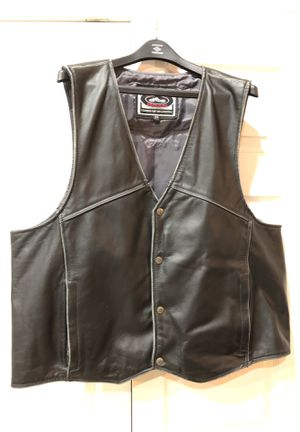 Motorcycle Leather Vest for Sale in Cypress, TX
