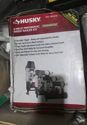 Husky finish nail guns for Sale in Lockport, IL