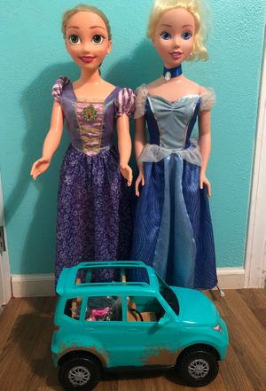 Disney Princess and Barbie Camping Trip Car for Sale in San Antonio, TX