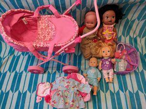 Doll's for toddler girl for Sale in Salt Lake City, UT