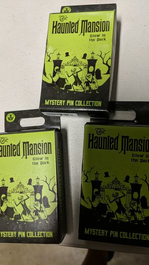 Disney haunted Mansion myself pins boxes new 8$ each for Sale in Pico Rivera, CA
