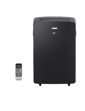 LG Electronics 12,000 BTU (7,000 BTU, DOE) Portable Air Conditioner, 115-Volt w/ Dehumidifier Function and LCD Remote in Graphite for Sale in Phoenix, AZ