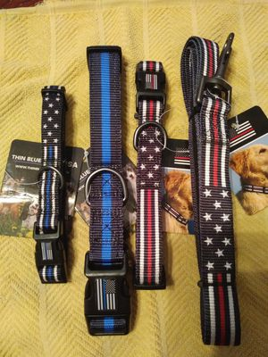 Dog collars and leashes for Sale in Warren, MI