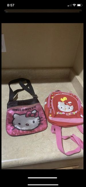 Hello kitty bags / purse both for $6firm for Sale in Laveen Village, AZ