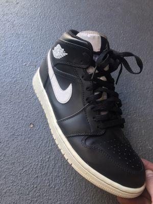 Air Jordan 1 Mid Black/Black for Sale in Seattle, WA