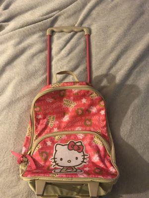 Hello Kitty Rolling Bookbag for Sale in Virginia Beach, VA