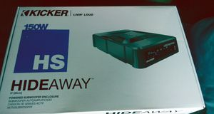 Kicker hideaway for Sale in Marysville, WA