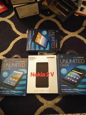 Verizon att phones read profile for Sale in Danbury, CT