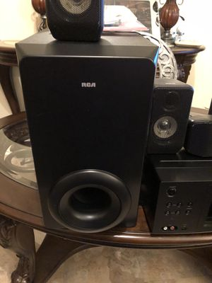 Rca Home Theater Receiver (5 speakers), Bose system (Brand New) for Sale in New York, NY