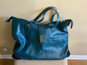 Joy Mangano rolling weekender bag for Sale in Des Plaines, IL