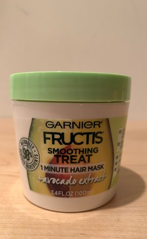 Garnier Fructis 1 minute avocado hair mask 3.4 oz for Sale in Alexandria, VA