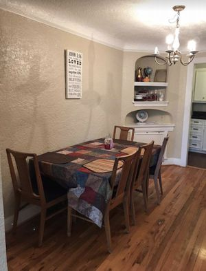Dining table can be folded from 4 persons to 12 persons for Sale in Dallas, TX