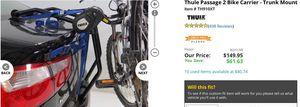 Thule bike rack for Sale in Washington, DC