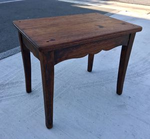 Small Antique Vintage Table / Bench for Sale in Los Alamitos, CA