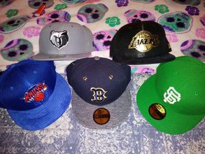 Fitted new era hats. for Sale in Modesto, CA