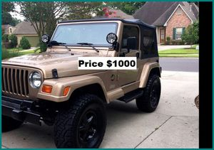 ֆ1OOO Jeep Wrangler for Sale in Pasadena, CA