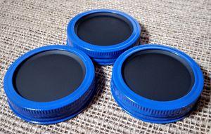 Chalkboard 3 Mason Jar Regular Mouth Lid/Ring Powder Coat Finish for Sale in Montezuma, OH