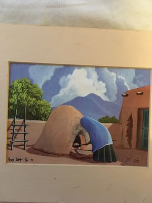 Andy Luna , Southwest artist, signed art for Sale in Rio Rancho, NM