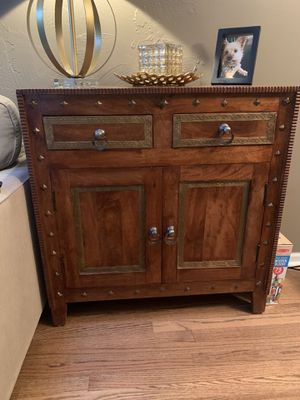 Pier one cabinet for Sale in Carol Stream, IL